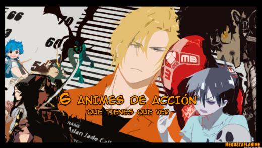 6 animes de acción que debes ver