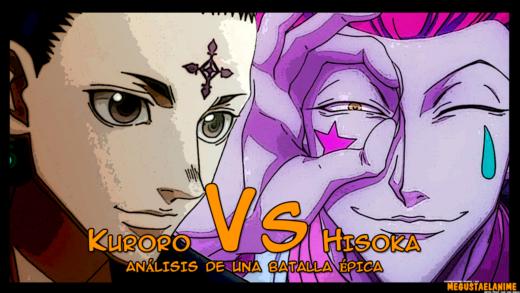 Kuroro VS Hisoka
